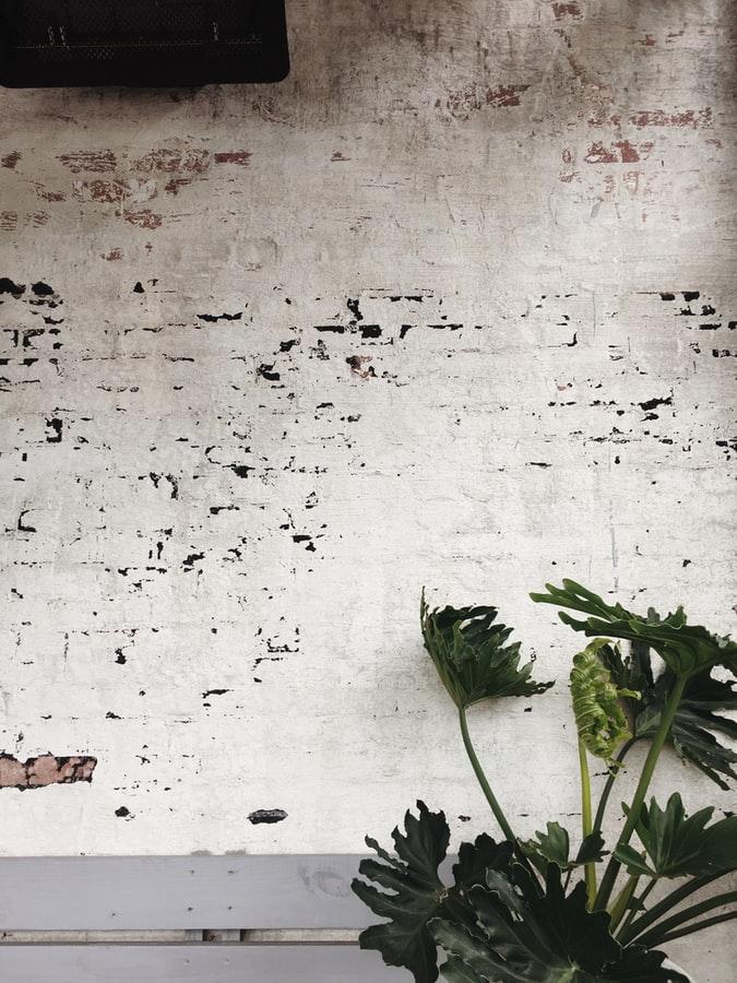 væg i kontor